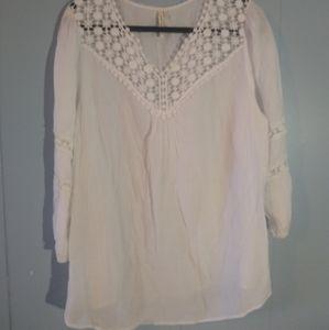 Grand & Greene white blouse